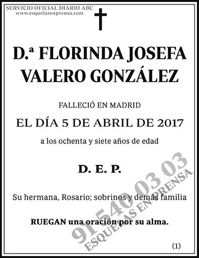Florinda Josefa Valero González